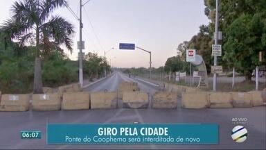 Interdição da ponte Benedito Figueiredo - Interdição da ponte Benedito Figueiredo