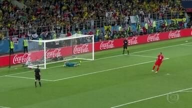 Inglaterra vence Colômbia e avança para as quartas, mas não foi fácil - Vitória foi nos pênaltis. Uribe e Bacca desperdiçaram duas cobranças para a Colômbia. Harry Kane fez seu sexto gol na Copa, terceiro de pênalti.