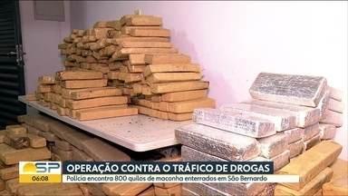 Polícia apreende 700 kg de maconha após 2 meses de investigação no ABC Paulista - Quatro pessoas foram presas