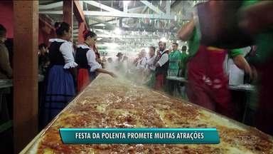 Festa da Polenta agita Curitiba a partir desta sexta-feira - Muitas comidas e atrações na 36ª edição da festa