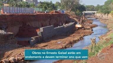 Avenida Ernesto Geisel passa por obras em Campo Grande - O MS1 acompanhou as obras que foram feitas até o momento.