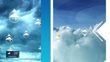Nevoeiro no Rio e em São Paulo provocou atrasos esta manhã no Santos Dumont - A prevcisão para amanhã, dia do jogo é de sol temperatura na casa dos 30 graus. O mar está agitado.