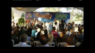 Expoagro é oficialmente aberta durante cerimônia em Governador Valadares - Exposição agropecuária vai até 15 de julho e reunirá diversas opções de entretenimento, leilões, seminários e competições; shows começam nesta sexta (6) com Henrique e Juliano.