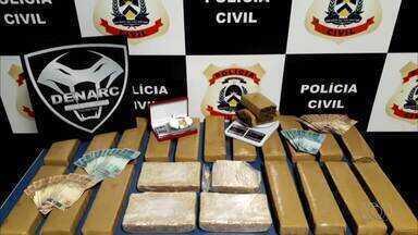 Polícia prende quatro suspeitos de tráfico de drogas em Porto Nacional - Polícia prende quatro suspeitos de tráfico de drogas em Porto Nacional