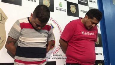 Dupla é presa suspeita de matar motorista de aplicativo na Zona Leste de Manaus - Briga de família teria motivado crime, que ocorreu na tarde de quarta-feira (4) no bairro Coroado.
