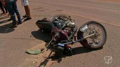 Motociclista morre ao se chocar em carro na contramão na PA-370 em Santarém - Acidente aconteceu na manhã desta quinta-feira (5).