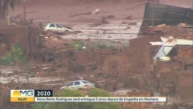 Governo concede licença ambiental para reconstruir Bento Rodrigues, em Mariana - Segundo Semad, edificação do novo Bento Rodrigues pode ser iniciada.