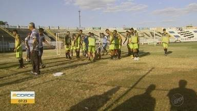 Comercial-SP se prepara para a segunda fase da Segundona no Campeonato Paulista - Técnico Pinho comenta os treinamentos da equipe.