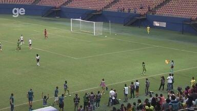 Gol anulado do Iranduba: Brenda marca de cabeça, mas árbitro invalida contra o Corinthians - Duelo da oitava rodada ocorreu nesta quinta, na Arena da Amazônia, em Manaus.