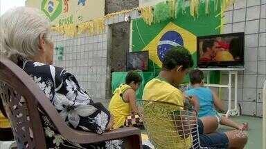 Veja como foi a reação da torcida em Fortaleza e interior do estado - Confira mais notícias em g1.globo.com/ce