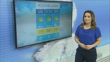 Confira a previsão do tempo para este fim de semana na região - Confira a previsão do tempo para este fim de semana na região