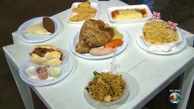 Festa das Nações reúne comidas típicas de 10 países em Presidente Prudente - Evento ocorre até domingo (8), no IBC.
