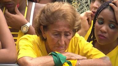 Copa do Mundo: baianos e turistas lamentam eliminação da Seleção Brasileira de Futebol - O Brasil perdeu por 2 a 1 para a Bélgica e está fora da competição.