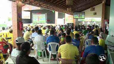 Confira a reação do torcedor em Serra Talhada após a eliminação do Brasil na Copa do Mundo - Brasil foi derrotado pela Bélgica por 2 a 1.