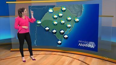 Tempo: instabilidade atinge maior parte do RS no sábado (7) - Assista ao vídeo.