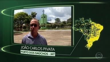 Porto dos Gaúchos, Patos do PI, Camboriú, S do Paraíso, S Cruz da Vitória, D Nova, Triunfo - Moradores de Porto dos Gaúchos (MT), Patos do Piauí (PI), Camboriú (SC), Santana do Paraíso (MG), Santa Cruz da Vitória (BA), Divisa Nova (MG) e Triunfo (RS) dizem o que querem para o futuro.