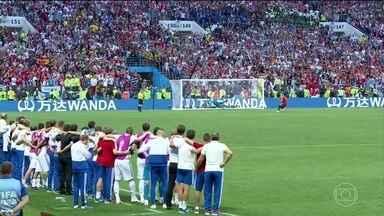 Croácia enfrenta uma Rússia bem confiante nas oitavas de final - A Croácia chega para essa decisão contra a Rússia com todos os jogadores inteiros. Já a Rússia está empolgada após pesquisa que mostra que os russos acreditam na vitória nas oitavas.