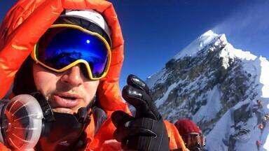 Morador de Santa Rosa escala o Monte Everest - Foram 50 dias de desafio.