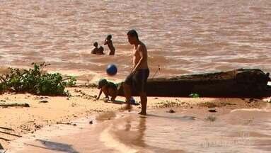 Primeira domingueira de Macapá Verão foi de muito sol de calor no balneário da Fazendinha - Expectativas dos comerciantes é de vendas altas nesse período de férias.