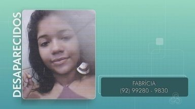 Família procura por jovem desaparecida em Manaus - Fabrícia tem 14 anos e saiu de casa no bairro Zumbi 2.