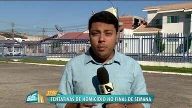 Polícia registra três casos de tentativa de homicídio no fim de semana em Linhares, no ES - Polícia Civil informou que está investigando os casos.