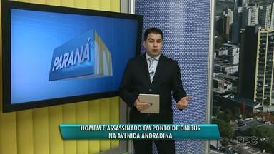 Homem é assassinado em ponto de ônibus em Foz do Iguaçu - Crime foi nesta segunda (9), à tarde.