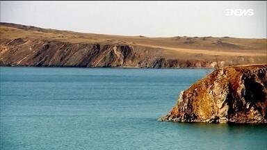 Lago Baikal, o maior reservatório de água doce do mundo