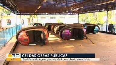 Presidente da Agetur, Alexandre Magalhães depõe à CEI sobre obras no Mutirama, em Goiânia - Parque está fechado há um ano após um acidente que deixou 13 pessoas feridas.