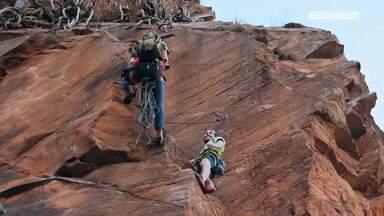 Escalada em Cuscuzeiro (Analândia-SP)