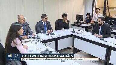 Comissão da Câmara que apura quebra de decoro de Wellington Magalhães se reúne em BH - Processo pode resultar na cassação do mandato do vereador.