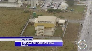 Teve tumulto na Fundação Casa de Taubaté - Situação é tranquila no começo da tarde desta terça (10).