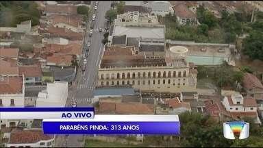 Nesta terça-feira é aniversário de Pindamonhangaba - A cidade completa 313 anos.