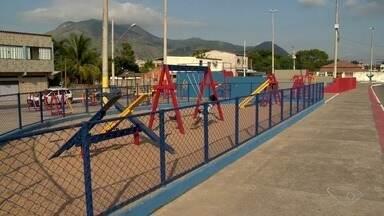 Calendário ESTV: área de lazer é entregue no bairro Planalto Serrano - Moradores aprovaram a mudança.