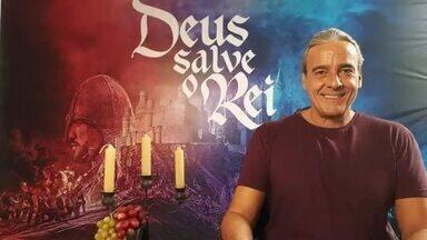 Live DSR: Alexandre Borges responde perguntas sobre o Otávio de Deus Salve o Rei - Confira!