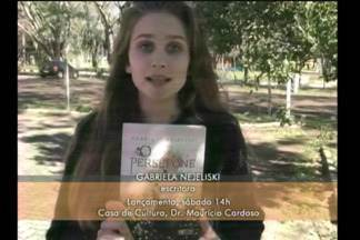 Agenda: jovem lança livro em Dr. Maurício Cardoso - O lançamento será nese sábado (14) na Casa de Cultura da cidade.