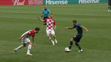 França 4 x 2 Croácia - Melhores Momentos