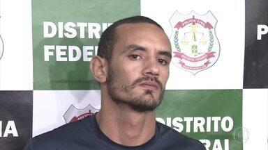 Polícia prende ex-marido que matou mulher a facadas na frente das filhas no DF - Stéfano Amorim confessou o crime e disse que fez por ciúmes.