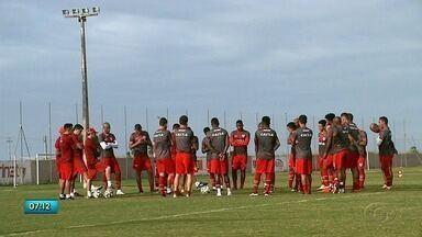 CRB se prepara para jogo contra o Juventude - Confira a reportagem.