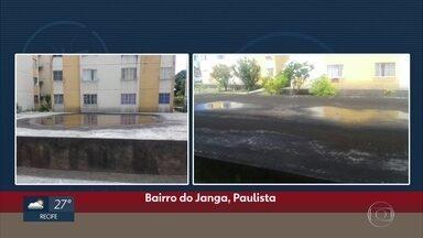 Campanha do NE 1 mostra foco de mosquito no Janga, em Paulista - Telespectadores podem enviar vídeos e fotos para o telejornal e ajudar a evitar doenças