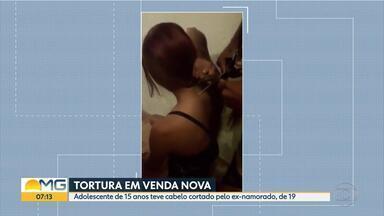 Jovem de 15 anos some depois de ser agredida por ex-namorado em Belo Horizonte - Adolescente teve o cabelo cortado pelo ex-namorado, de 19 anos.