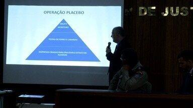 MP revela detalhes de esquema criminoso que sonegava imposto em Alagoas - Operação Placebo resultou na prisão de 8 pessoas.
