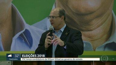 PSC lança Wilson Witzel como candidato ao governo do estado - Convenção do partido foi neste sábado (21), na Tijuca.