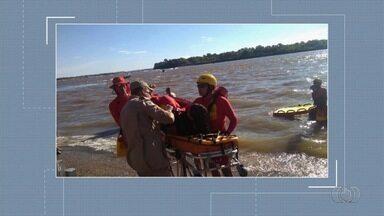 Jovem cai no Rio Araguaia e bate a cabeça em moto aquática, em Aruanã - Caso ocorreu na Praia do Cavalo.