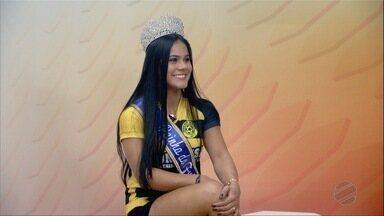 Wellem Amorim, eleita Rainha do Peladão 2018 ao vivo no Globo Esporte - Wellem Amorim, eleita Rainha do Peladão 2018 ao vivo no Globo Esporte.