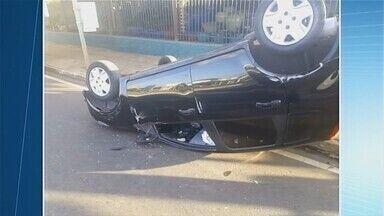 Levantamento do Samu mostra alto índice de acidentes em Uberaba - No primeiro semestre de 2018, foram registrados 982 acidentes na cidade.