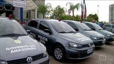 Força-tarefa é criada para investigar o aumento de homicídios em Manaus - O secretário de Segurança Pública do Amazonas anunciou a criação de uma força-tarefa com 34 delegados para investigar as mortes. Só em julho já foram 102 casos de homicídio.