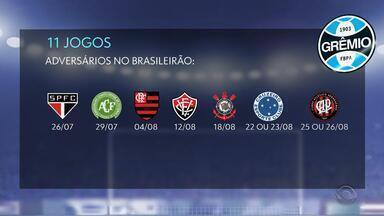 Calendário apertado: Grêmio tem maratona de 11 jogos - Assista ao vídeo.