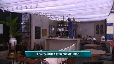 Começa hoje a Expo Construindo, em Cascavel - A feira segue até domingo e a entrada é de graça.
