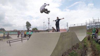 Skatepark em Bogotá