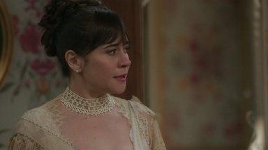 Susana se irrita após ser confrontada por Elisabeta - Ela pensa em ir reclamar com Lady Margareth